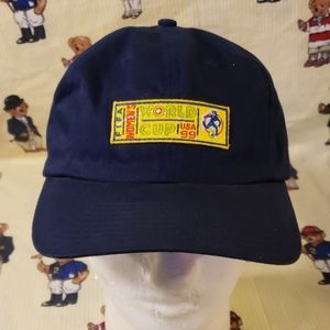 adidas Accessories - vintage adidas hat fifa women's world cup usa 99